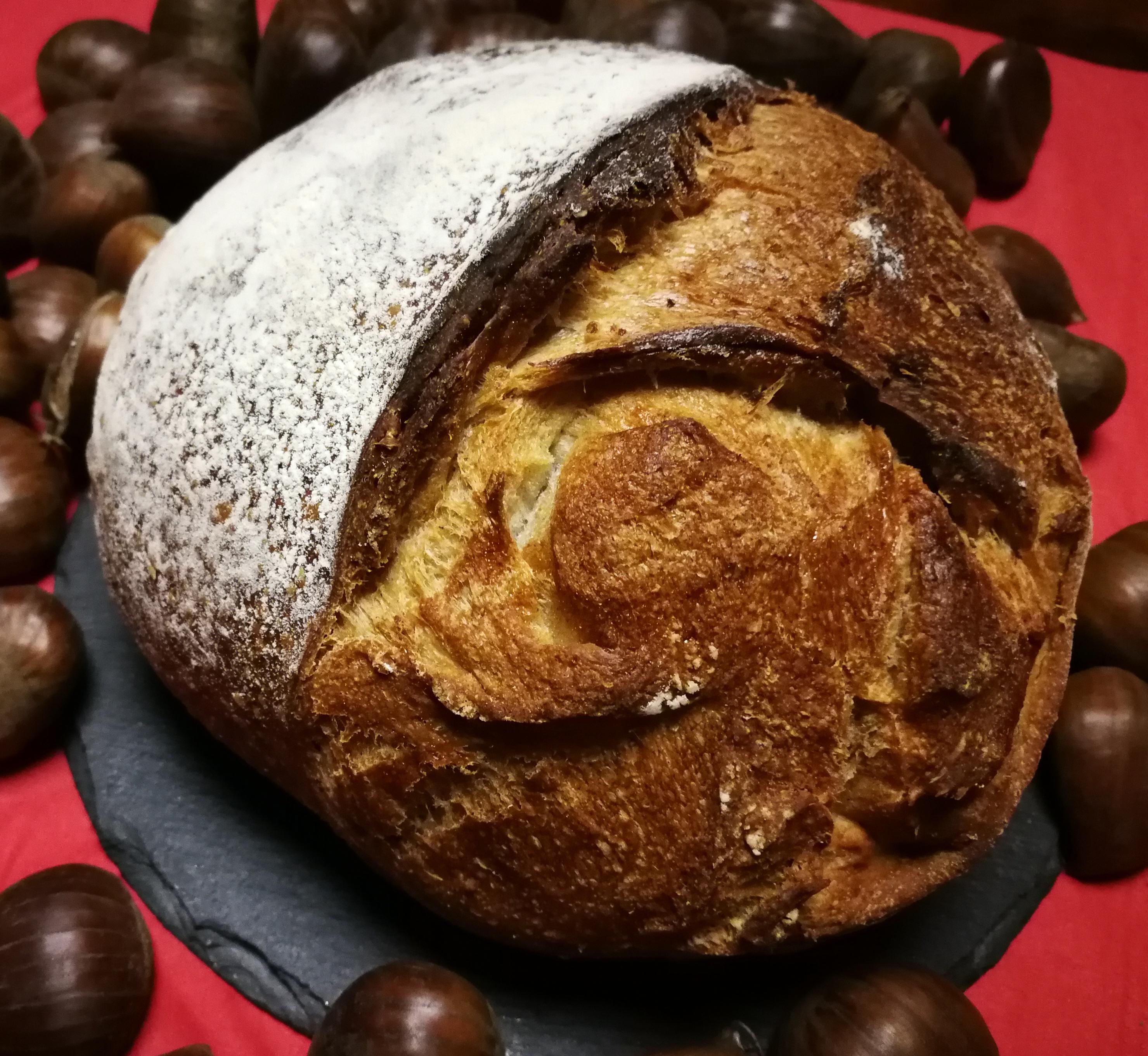 Pain du mois : pain aux châtaignes